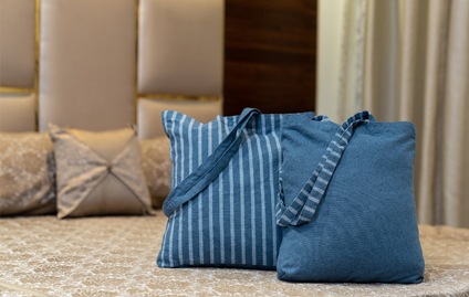 Recycled Denim Yarn for Home Textiles